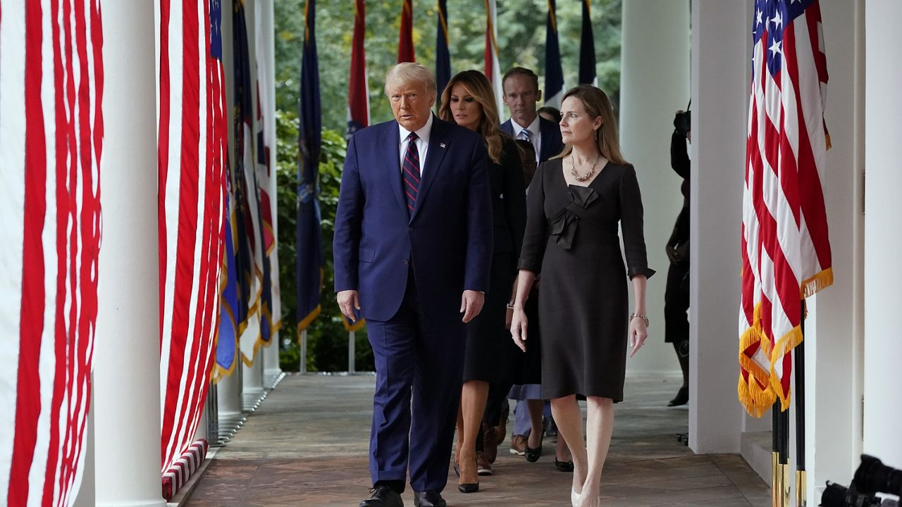 Biden, Harris, McConnell, Other Lawmakers React to Amy Coney Barrett's Nomination