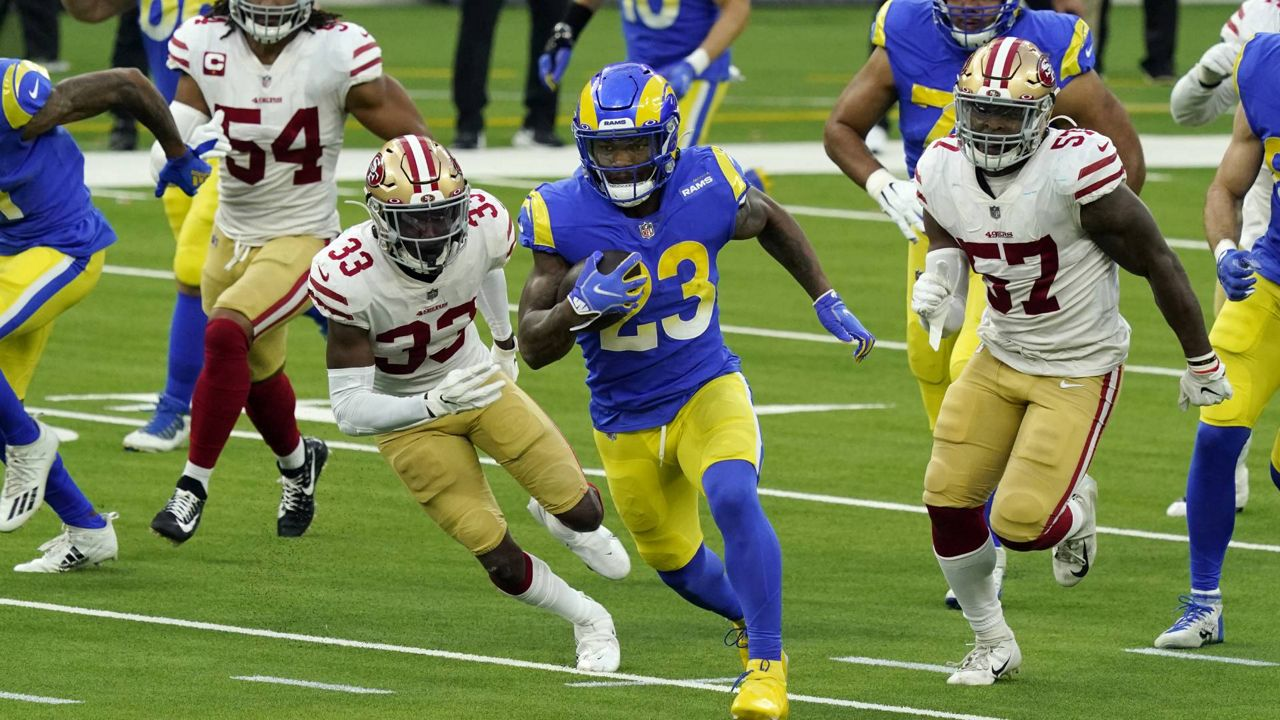Rams Fall To 49ers 23 20 Suffer First Sofi Loss