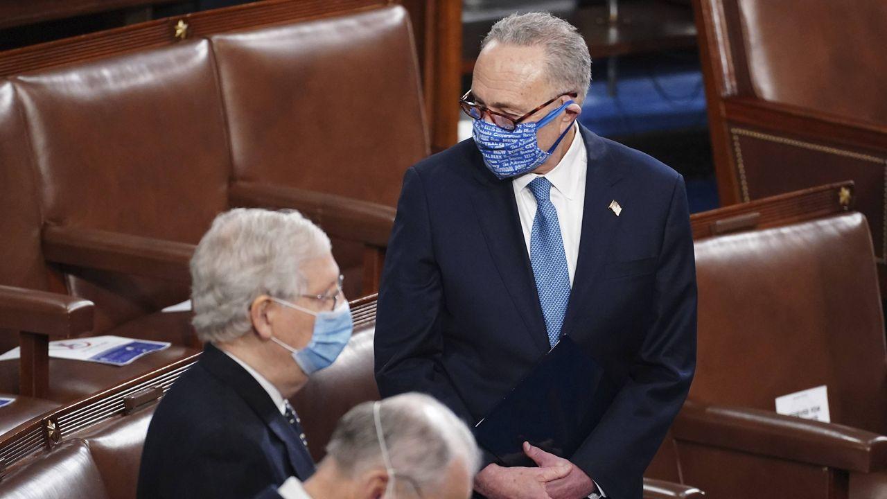 Senate Power-Sharing Negotiations