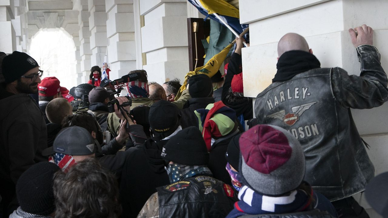 DOJ: No charges against officer who fatally shot woman during U.S. Capitol riot