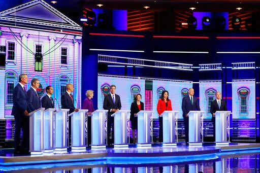 20 Democratic Presidential Candidates Picked for Detroit Debate