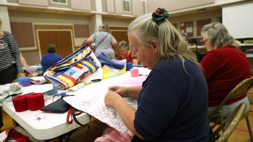 Every Year, Austin-Area Quilters Volunteer to Make Charity Baby Quilts