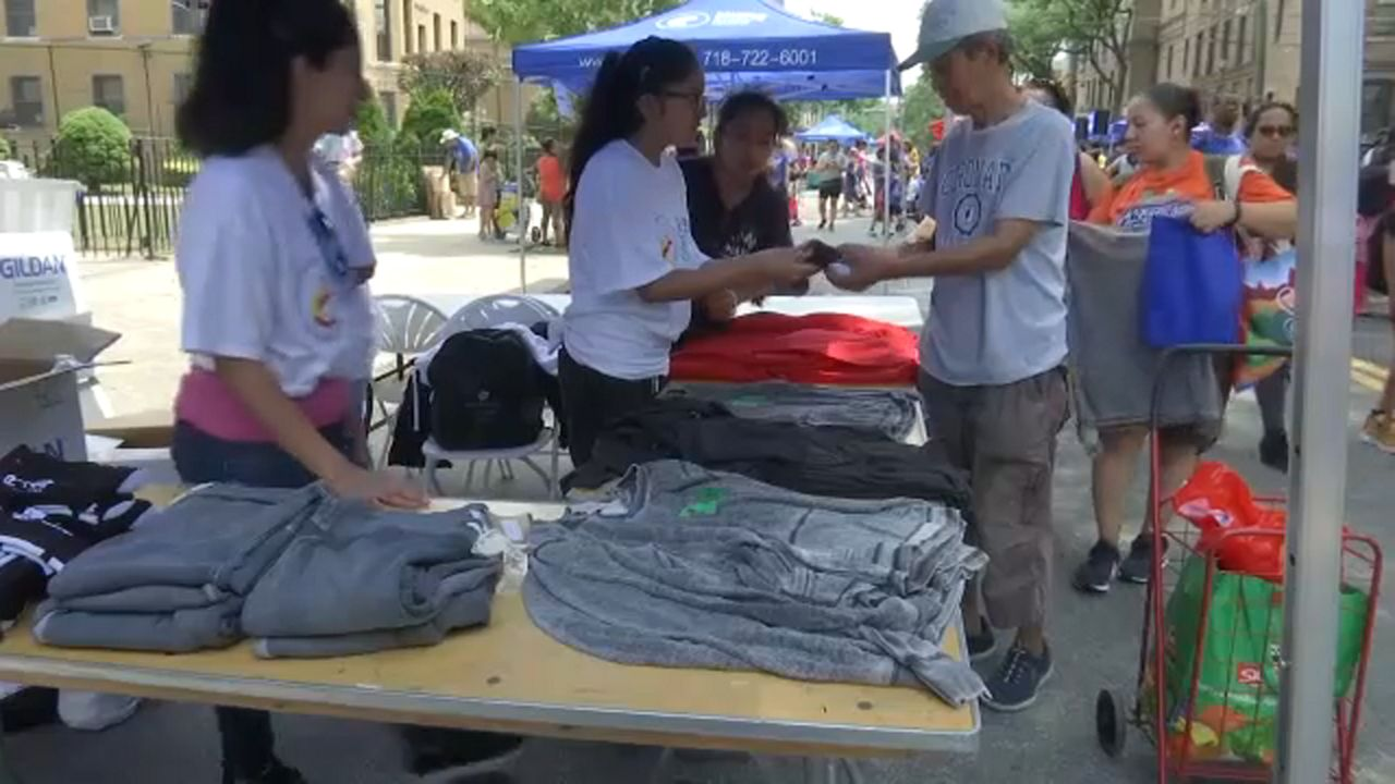 Back to school event provides free supplies to kids