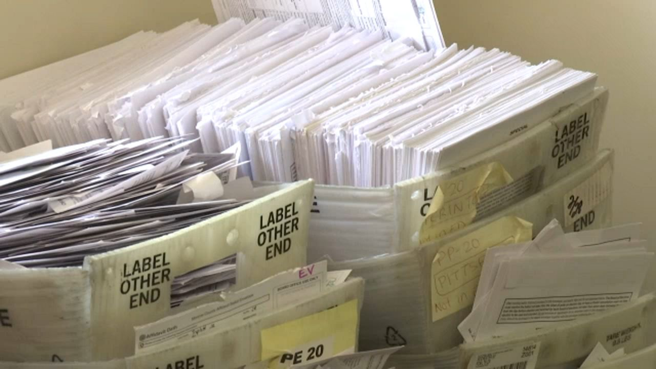 Mail-In Ballots Headed Out To Florida Voters