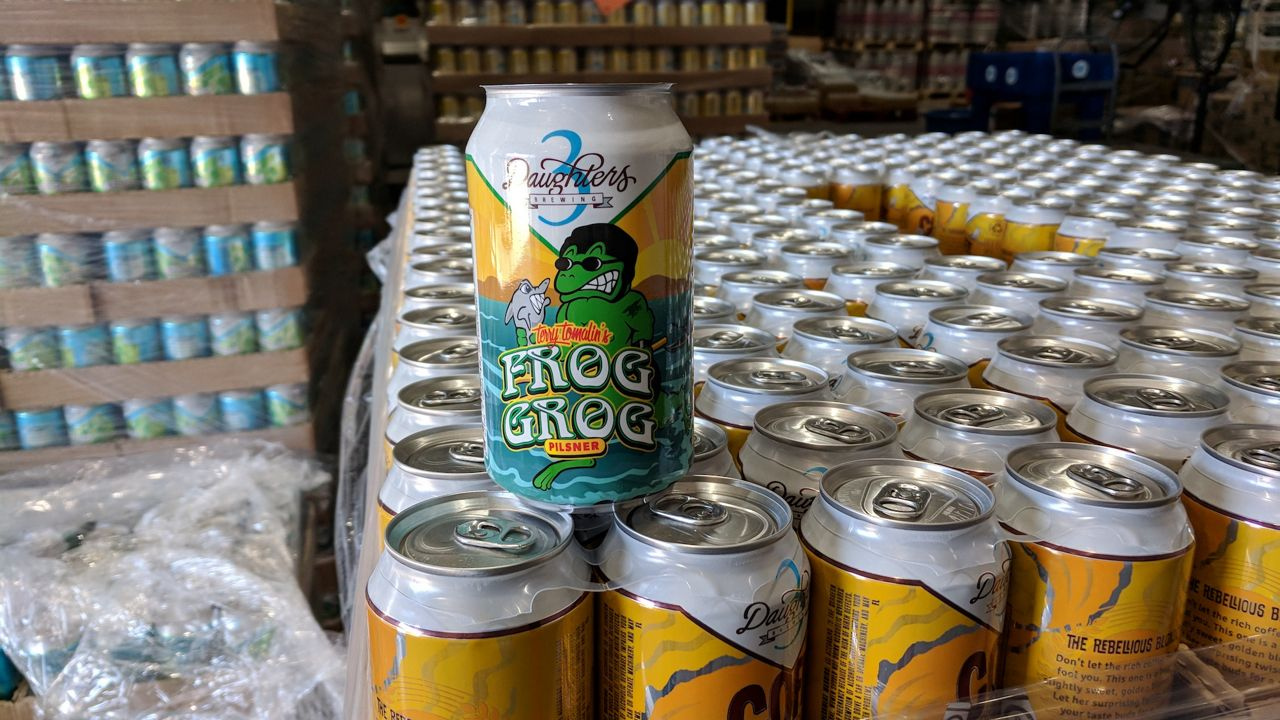 St. Pete's 3 Daughters Brewing has a new online Beverage Finder. (Photo by Scott Harrell)