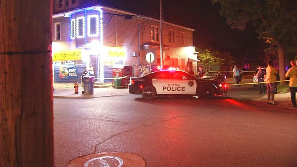 one dead in double shooting on burgard place in buffalo