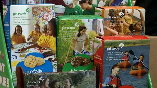 Order Your Favorite Girl Scout Cookies From Your Phone