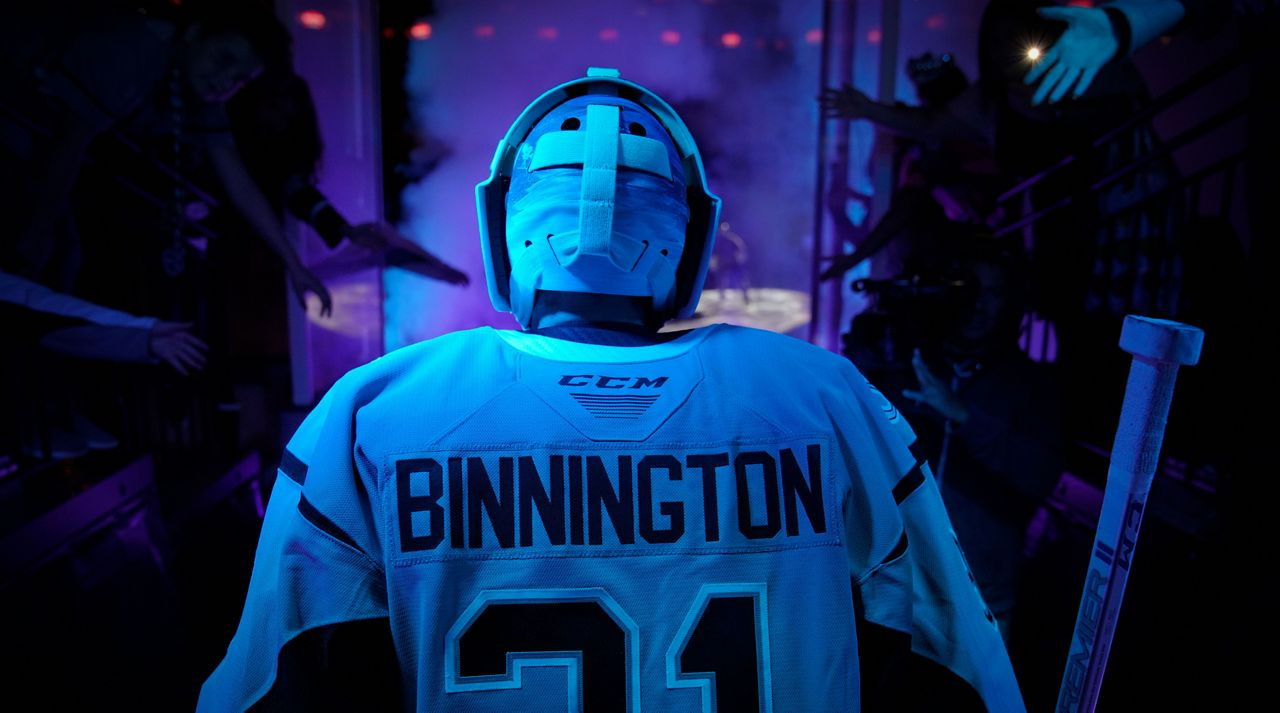 best website 802bf 090ad Former Rampage Goaltender Becomes Stanley Cup Champion