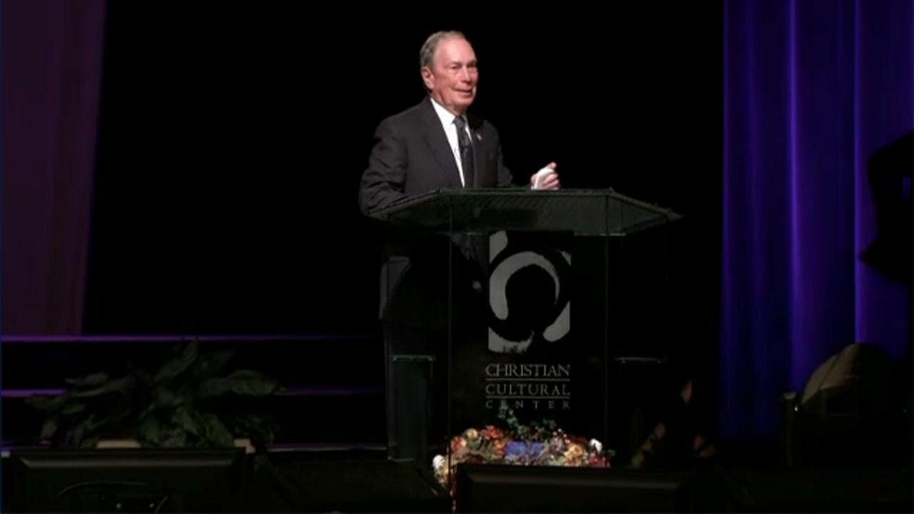 Reacciones sobre las declaraciones de Michael Bloomberg
