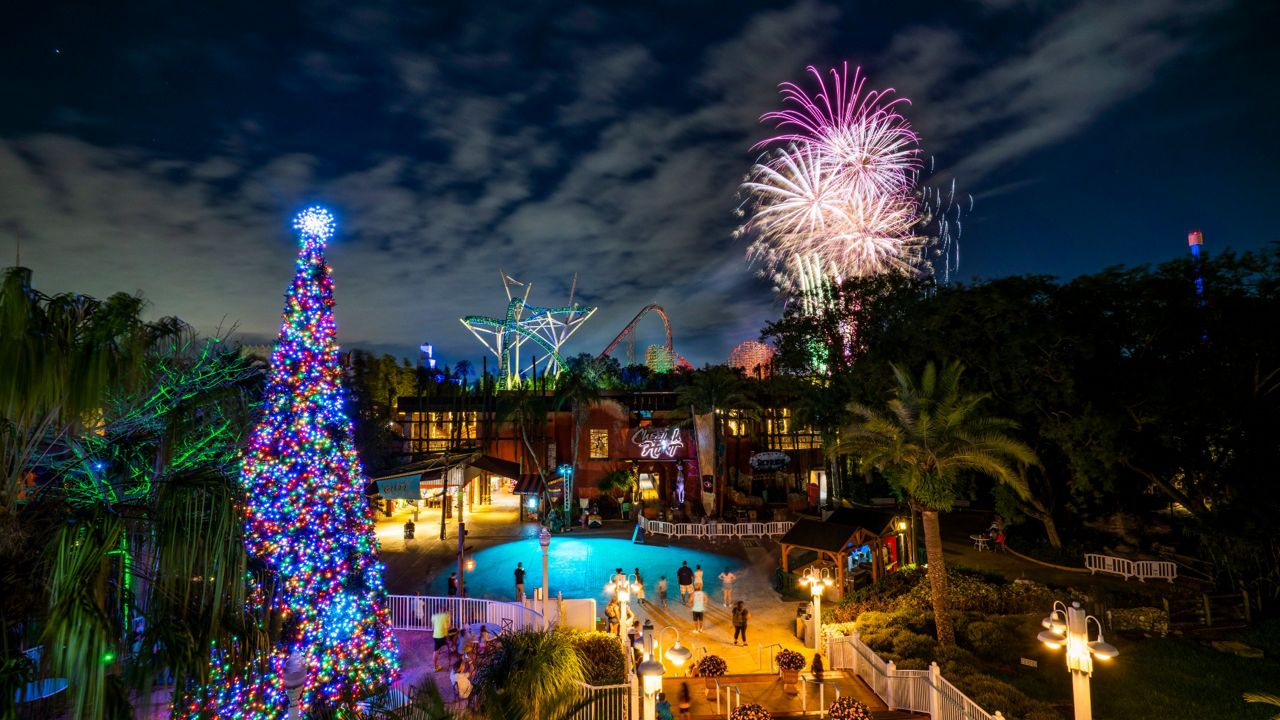Busch Gardens Tampa Bay To Offer Modified Nye Celebration
