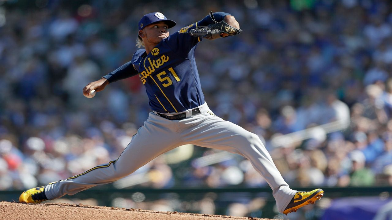 Pitcher Freddy Peralta Unique Role With Brewers This Season