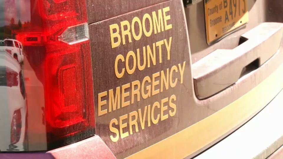 Wrong-Way Driver Hits Broome County Sheriff's Deputy's Car