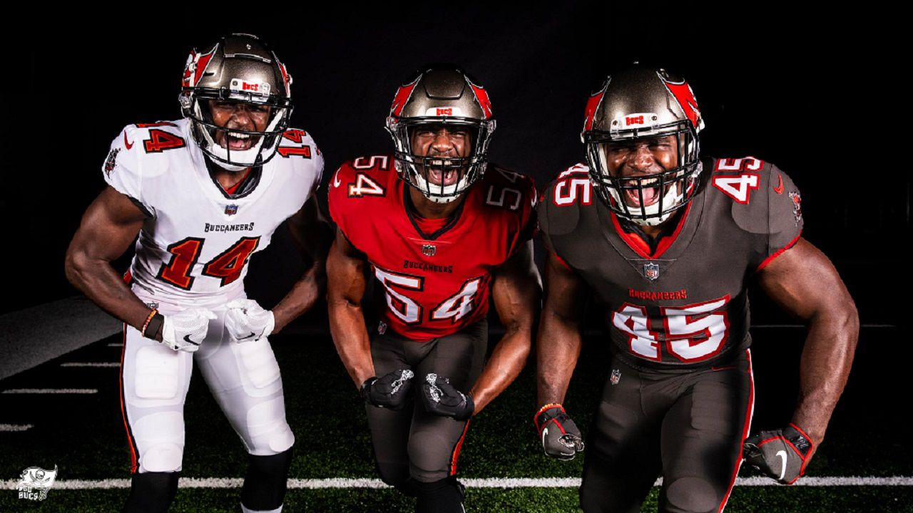 buccaneers reveal new uniforms buccaneers reveal new uniforms