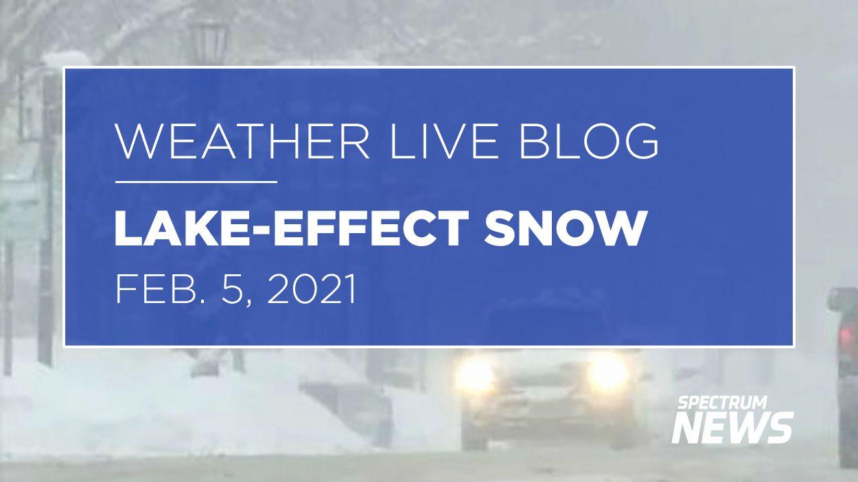 Live Blog: Buffalo-Area Lake Snow/Wind Updates