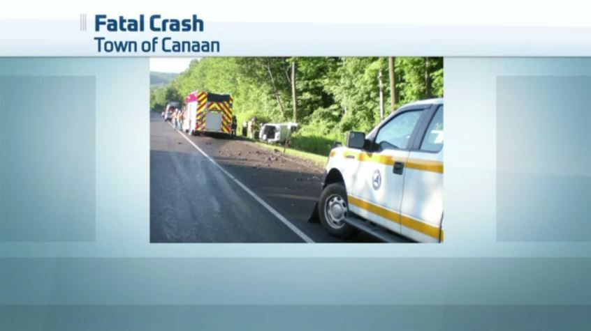 One Dead in Morning Thruway Accident