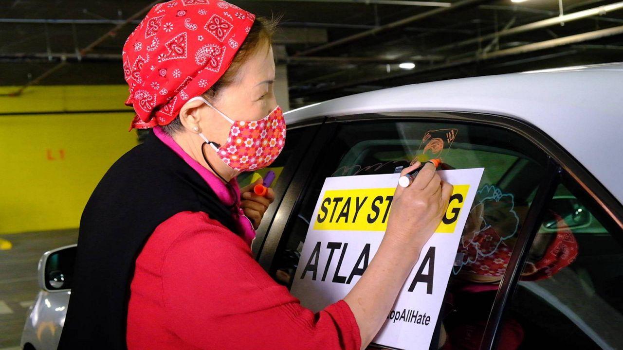 spectrumnews1.com: Koreatown Car Caravan Spreads Message to End Asian American Hate Crimes