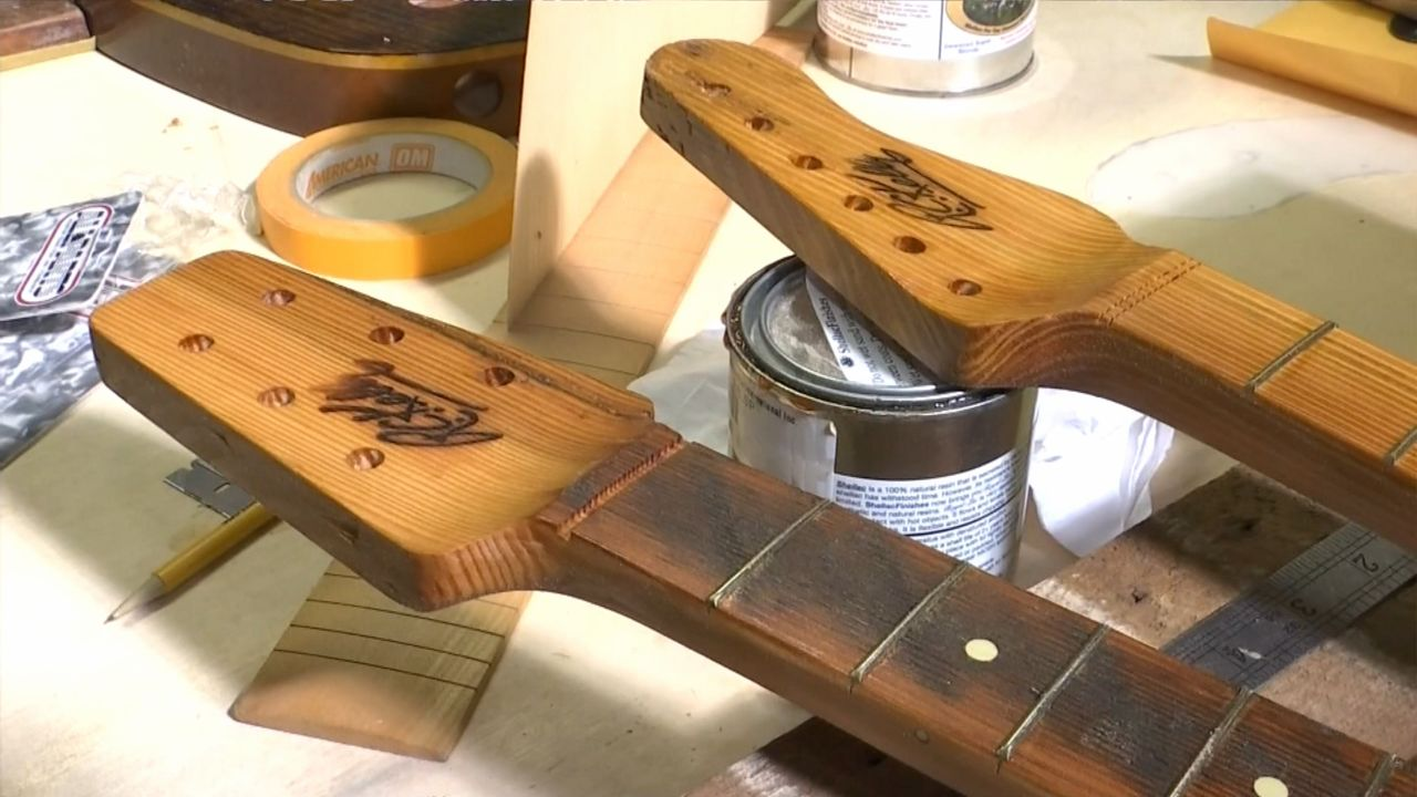 Guitar Maker Crafts Instruments from City's Past