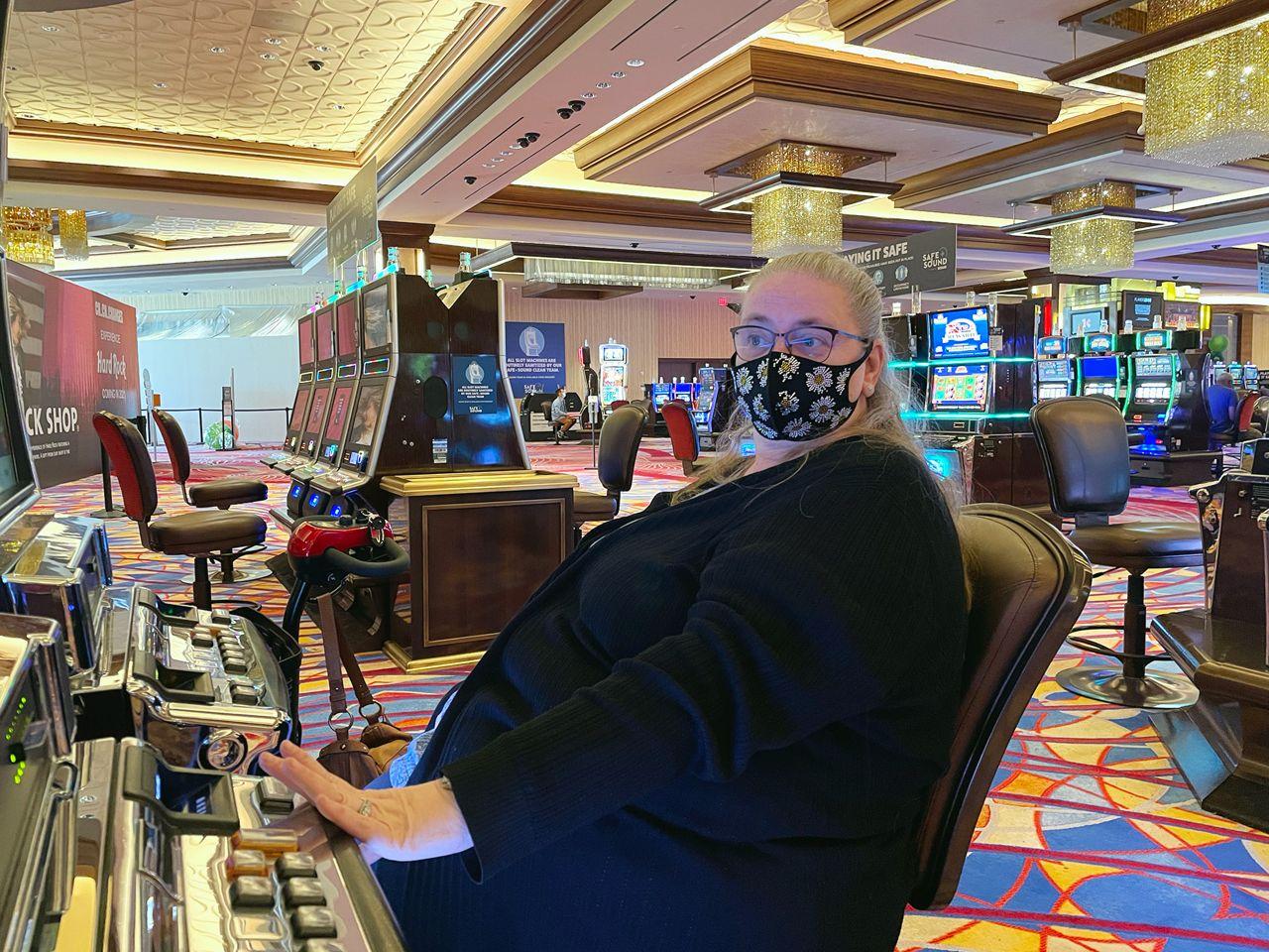 Casino patron