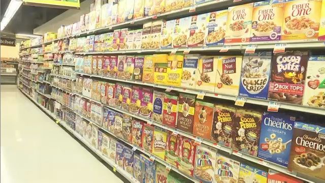 Cereal aisle analysis