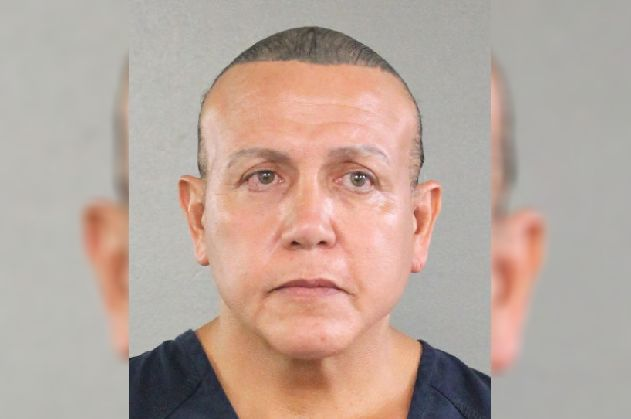 Law enforcement officials have identified the suspect as Cesar Sayoc Jr., 56, of Aventura, Florida.
