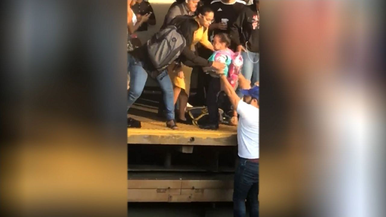 5 Year Old Rescued After Being Hit By Train In The Bronx