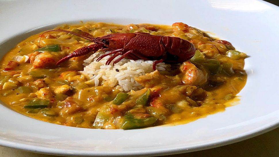 Chef S Kitchen Creole Crawfish Etouffee At Roux