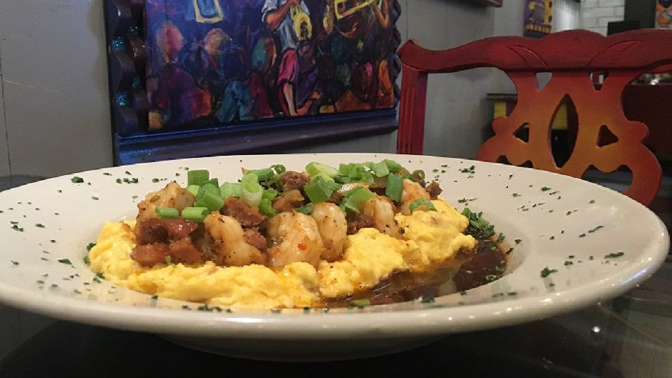 Chef's Kitchen: Tibby's Cajun Shrimp and Cheddar Grits