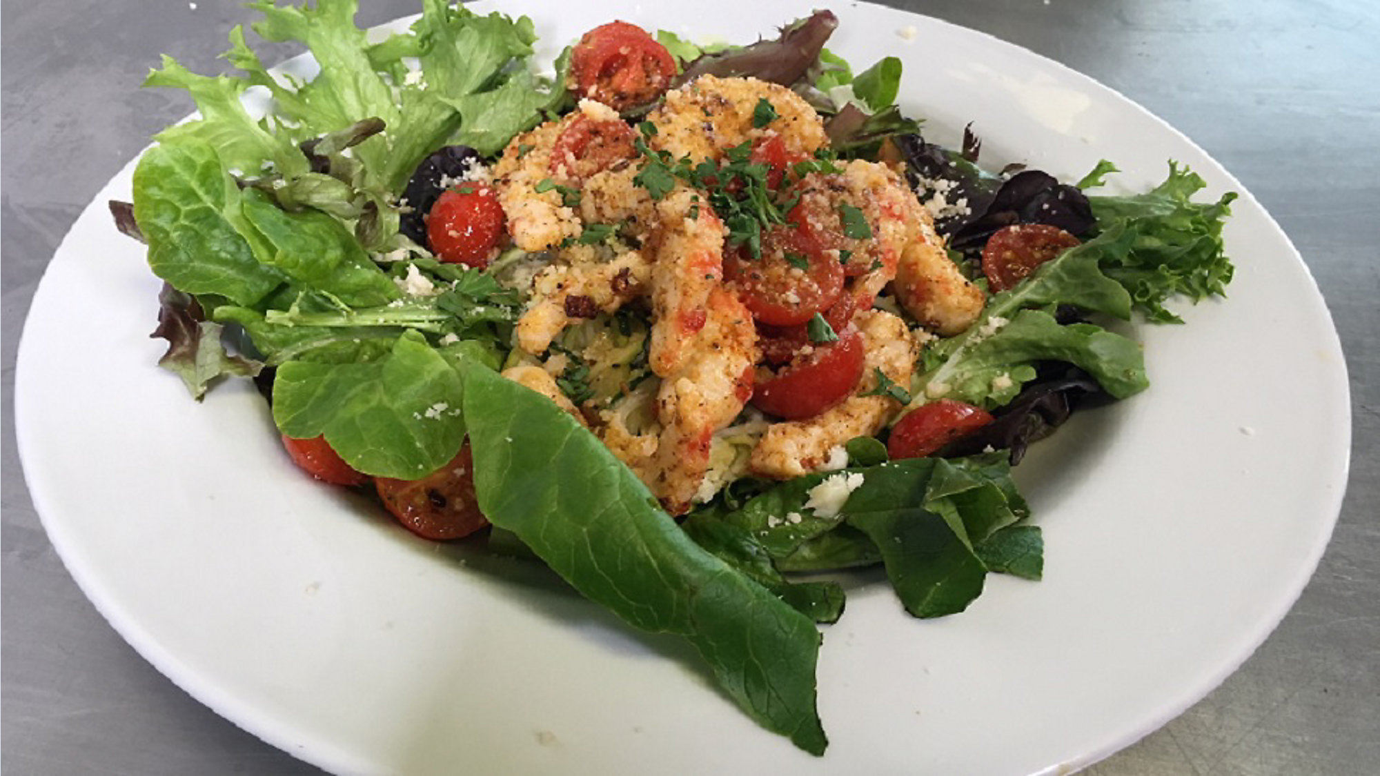 Chefs kitchen vegan blackened shrimp