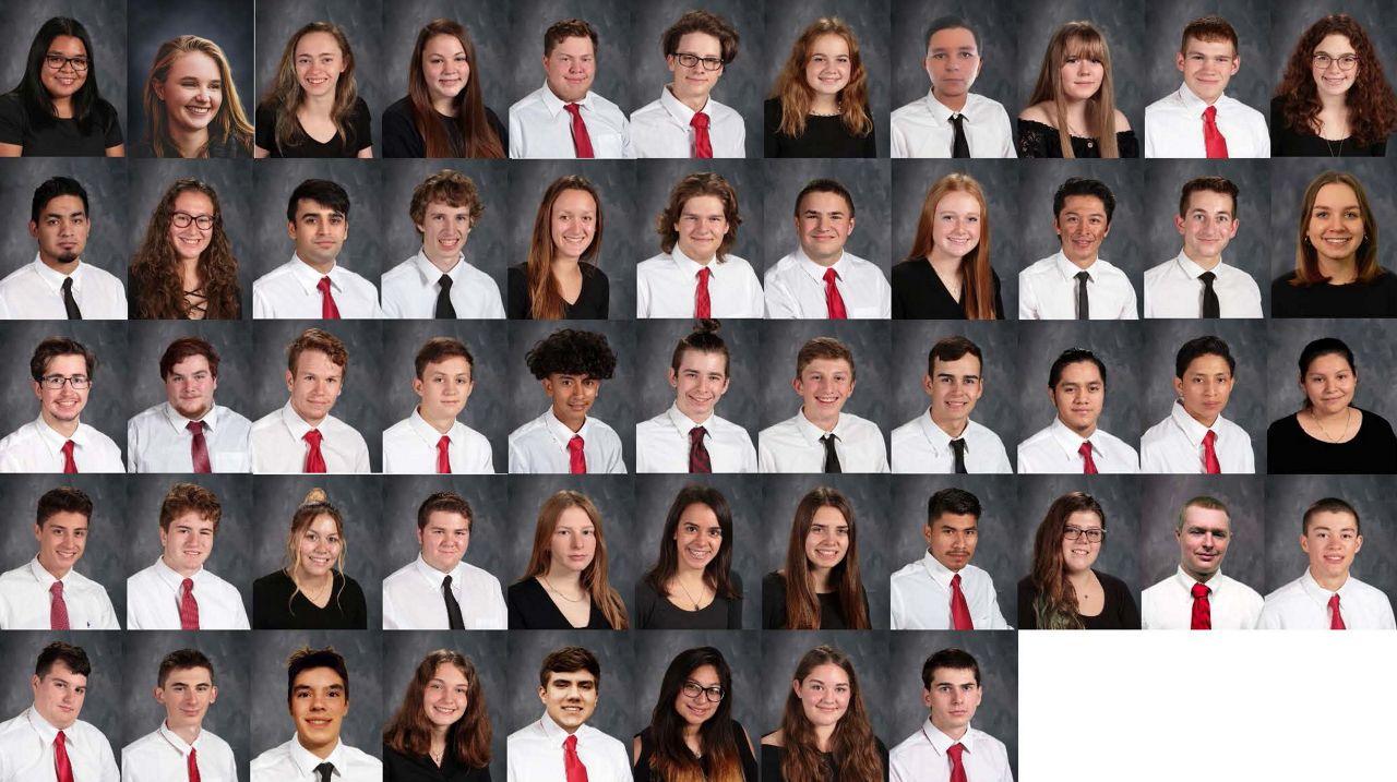 Class of 2021 Southern Cayuga
