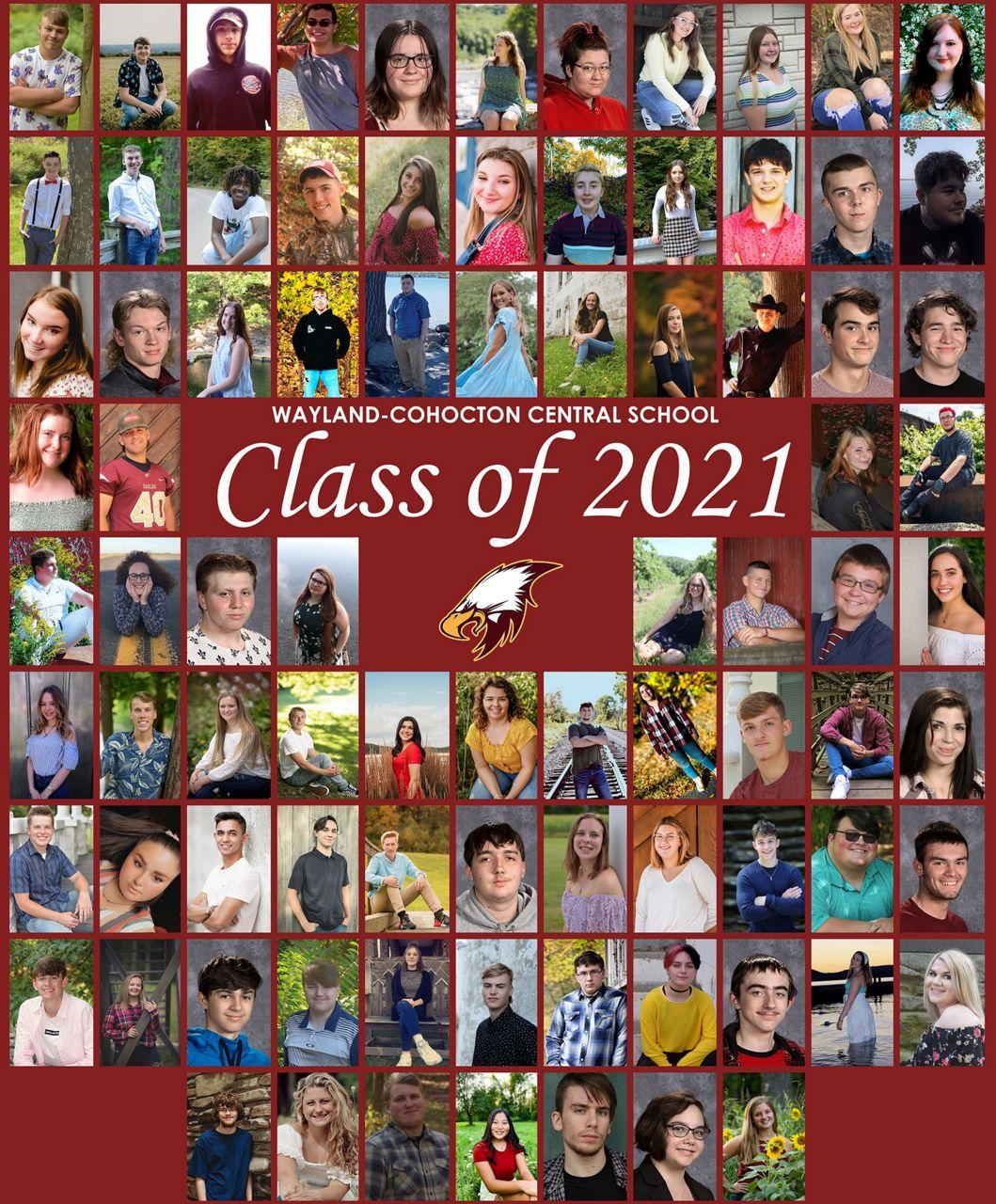Class of 2021 Wayland Cohocton