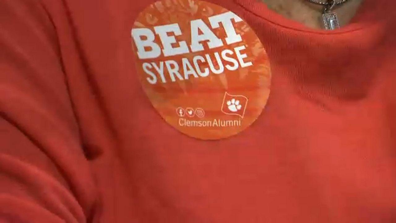 Clemson Fans Roar Through Syracuse Ahead of Big Game