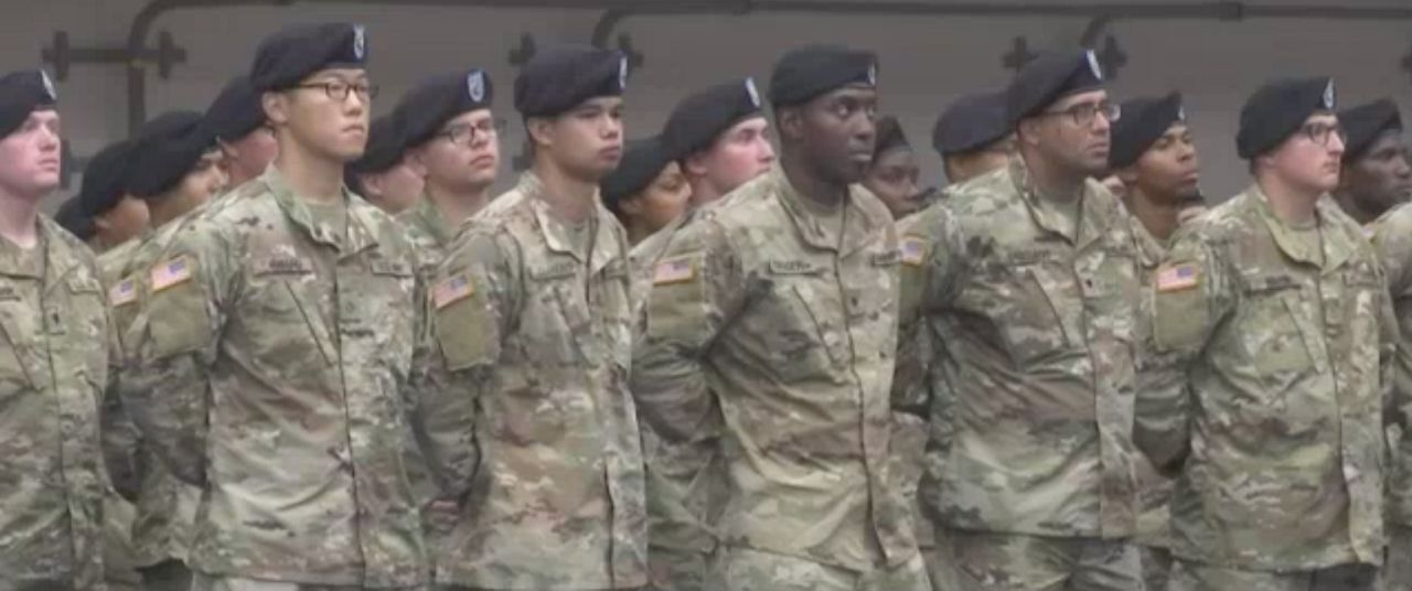 Fort Drum change of command ceremony