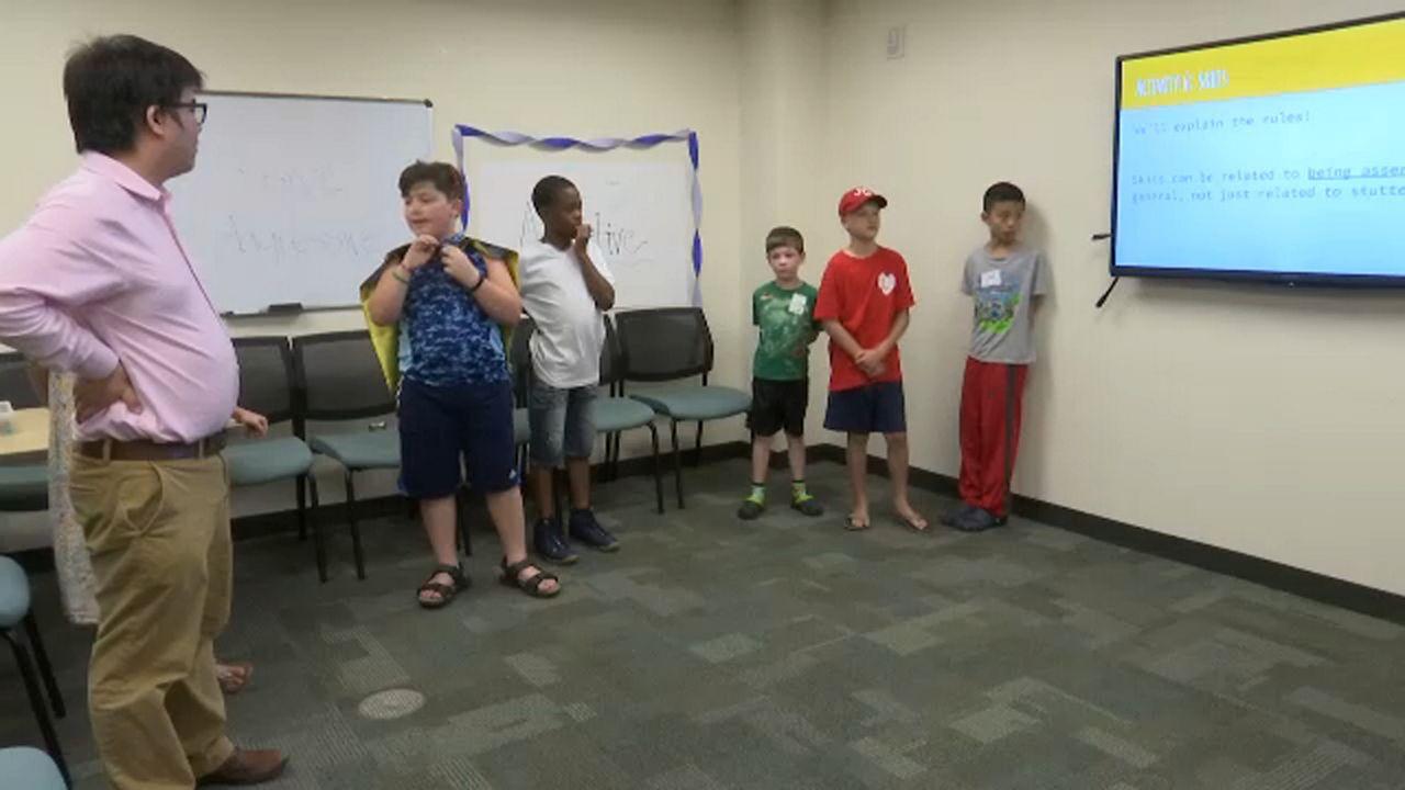 SU Program Helping Kids With Speaking Disorders