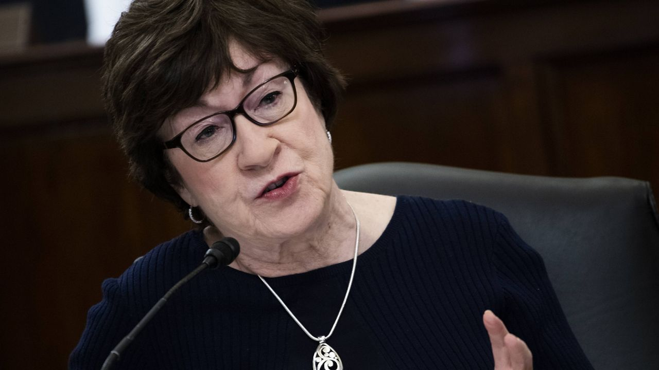 Sen. Susan Collins (Tom Williams/Pool via AP)