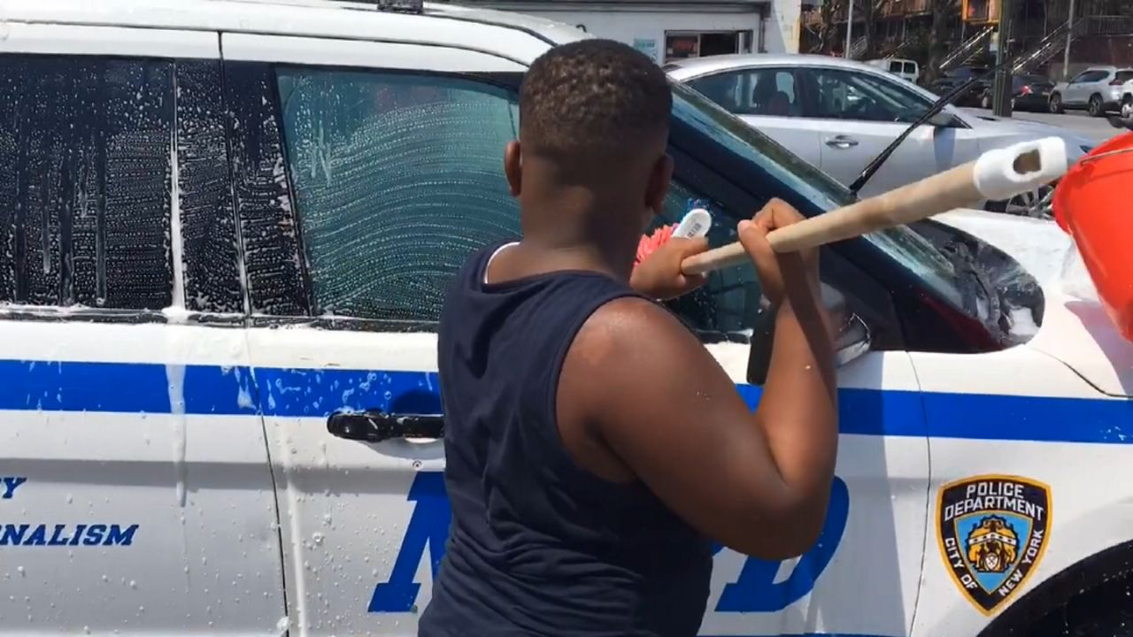 Community Car Wash Supports Officers After Water Incidents