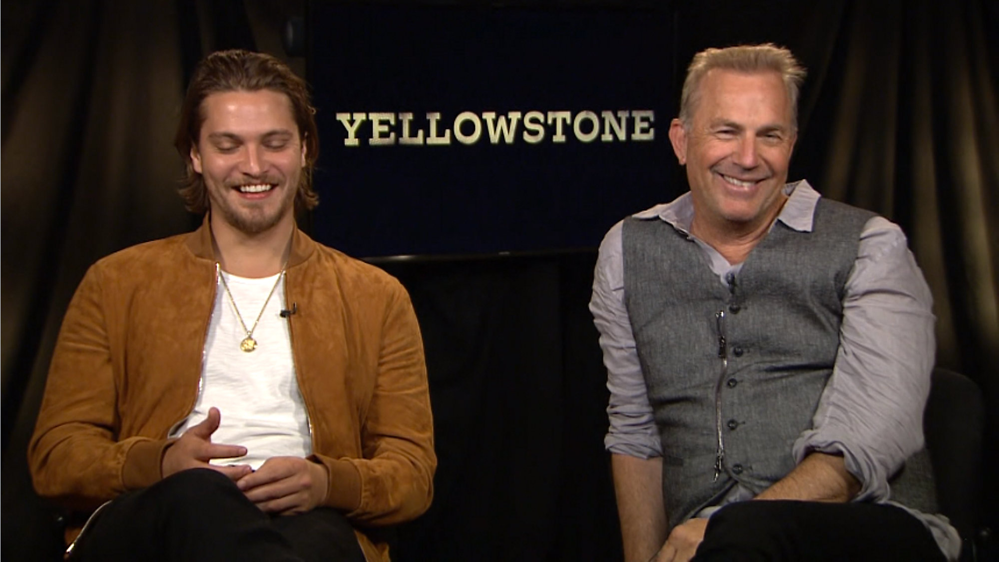 b166c4f6f41ba Kevin Costner and Luke Grimes discuss  Yellowstone  TV show