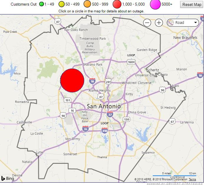 Hundreds Without Power During Severe San Antonio Rain
