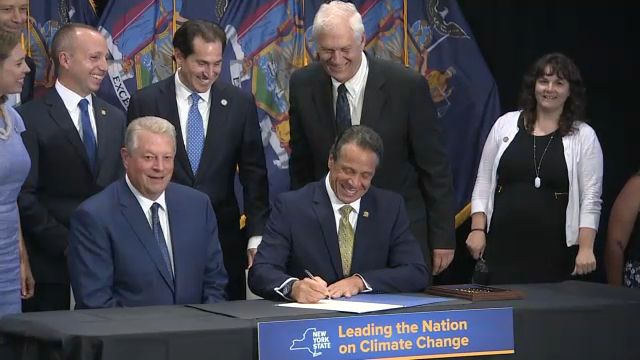 Cuomo Signs Historic Climate Change Legislation