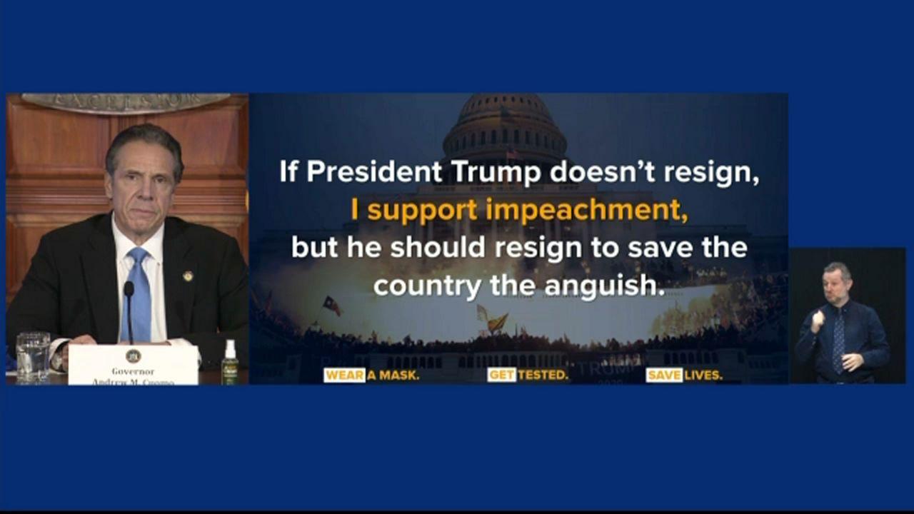 Trump's resignation