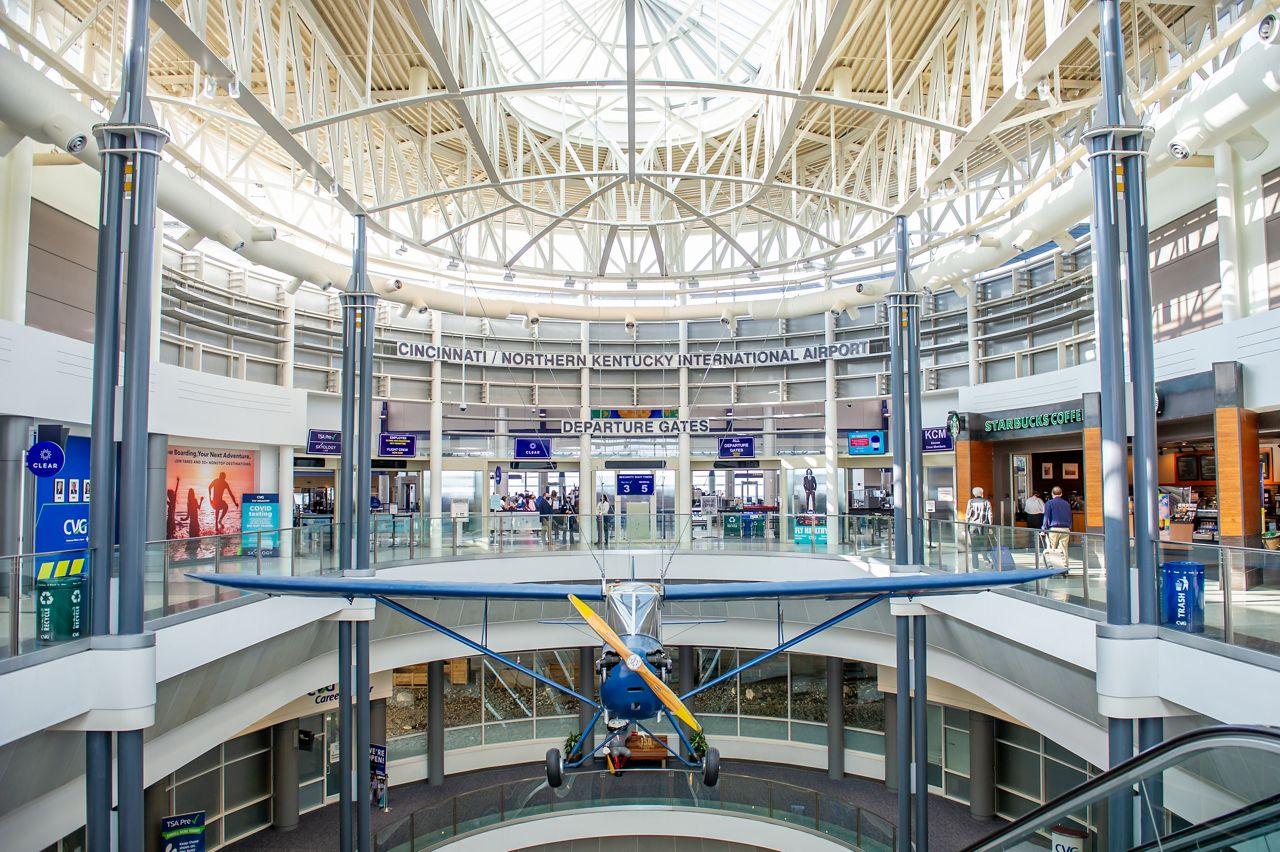 Terminal at CVG airport