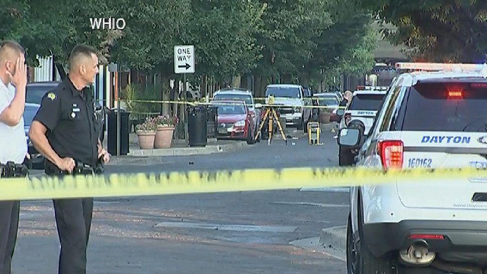 Nueve muertos  y docenas de heridos tras tiroteo en Dayton, Ohio