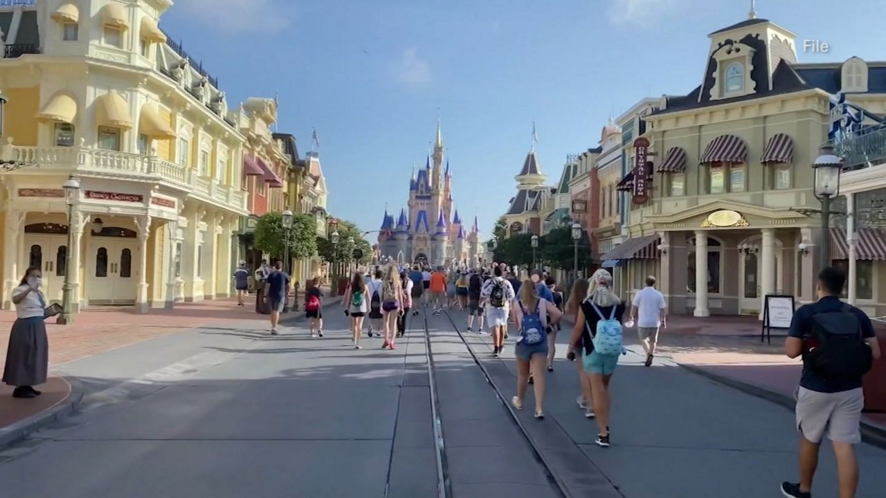 DeSantis Order Would Allow Florida Theme Parks to Operate at Normal Capacity