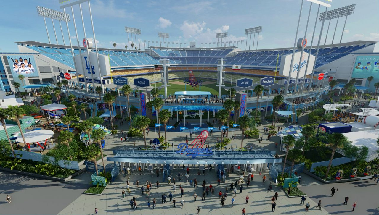 Dodger Stadium: First Look at Planned $100M Renovations on dodgers section map, griffith park map, cincinnati reds map, california map, o.co coliseum map, los alamitos race track map, the getty map, target field map, la dodgers map, santa fe dam recreation area map, bronson canyon map, angel stadium map, durham bulls athletic park map, suntrust park map, sports authority field at mile high map, staples center map, los angeles map, wrigley field map, citi field map, marlins ballpark map,