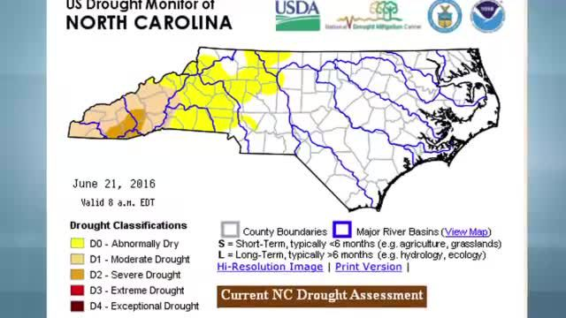 Severe Drought Creeps into Western North Carolina