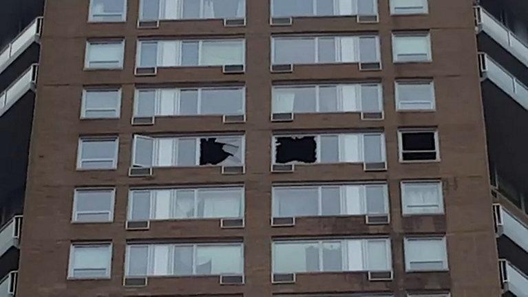 Fire East Harlem high-rise