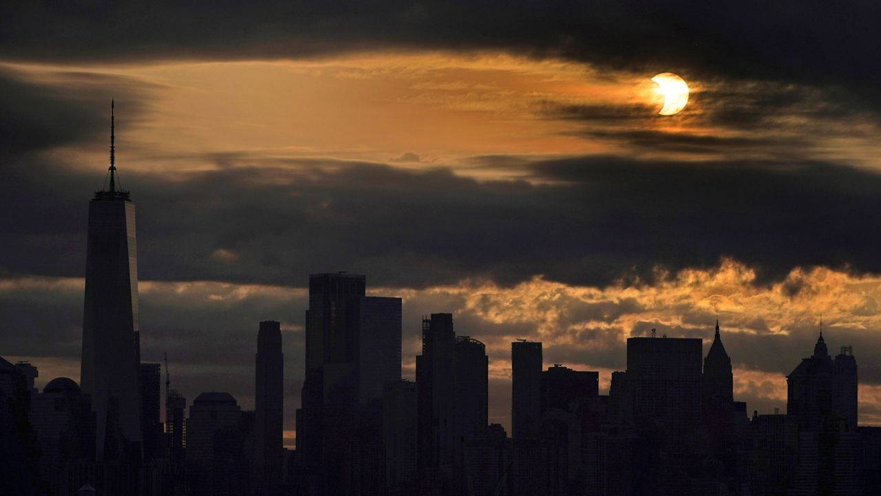 What the 'Ring of Fire' solar eclipse looked like from NYC