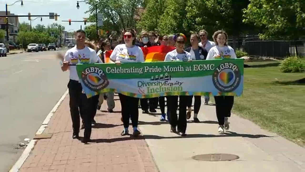 ECMC celebrates LGBTQ+ community with Pride Walk