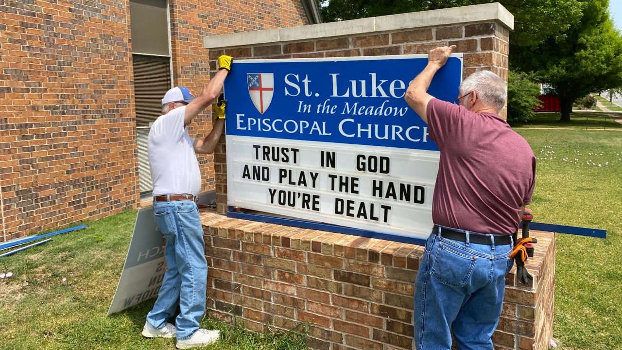 Six Episcopal congregations lose their homes today