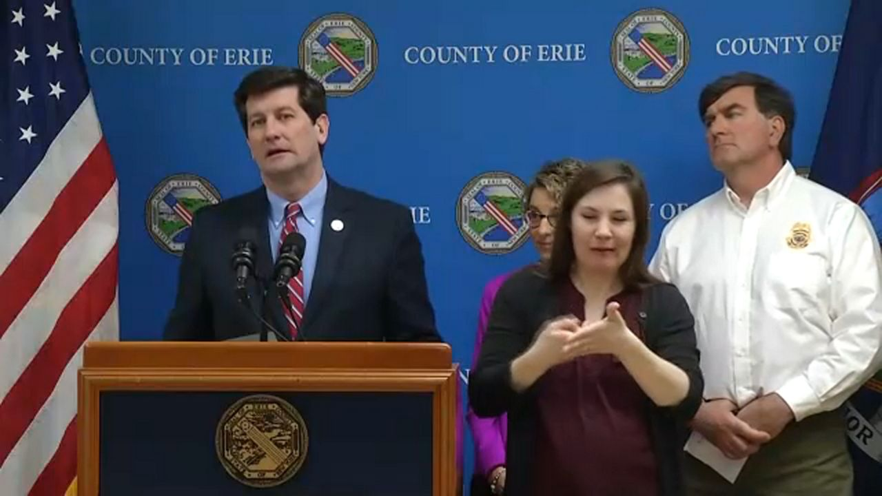 Officials Provide Update On Coronavirus Cases In Erie County