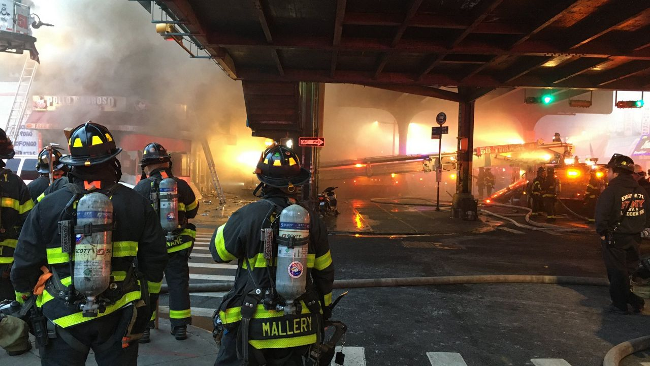FDNY Investigating Cause of Morning 3-Alarm Blaze in The Bronx